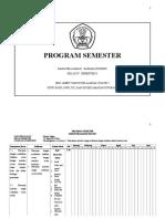Program Semester II Kelas IV Mata Pelajaran Bahasa Inggris