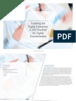 KPMG Digital Enterprise Cio Checklist 1