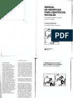Becker-Manual de Escritura Para Cientбficos Sociales-1