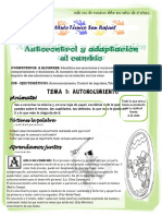 Autocontrol y Adaptacion Al Cambio