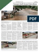 Normalisasi Sungai Jadi Kunci Jawaban