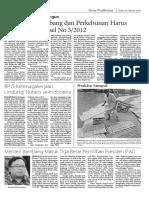 Larangan Perusahaan Tambang Dan Perkebunan Melintas Jalan Umum Dan Khusus