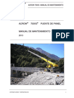 Manual de Mantenimiento_ACROW