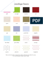 Page Stationery Liner Options