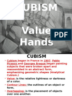 cubism hands ppt