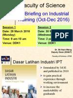 FSc IT 2016 Oct 1st Briefing Slides