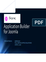 Fabrik - Application Builder for Joomla