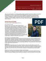 IM Resident Research Newsletter - Spring 2017