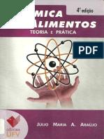 Química de Alimentos - Júlio Maria a. Araújo