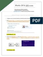 Instrucciones para instalar solidworks 2016