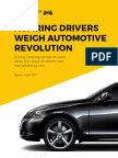 Aspiring Drivers Weigh Automotive Revolution Survey