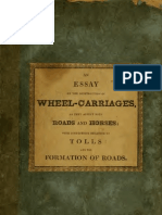 (1820) An Essay on the Construction of Wheel-Carriages as They Affect Both Roads & Horses