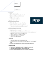 The Guidelines in Job Interview