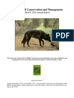 2016 Annual Wolf Report DRAFT