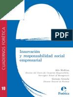 Cuaderno Foretica 10 Innovacion Responsabilidad Social Empresarial