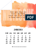 Calendário Poético Filosófico 2017 - FILOSOFANDO