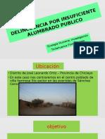 DELINCUENCIA POR FALTA DE ALUMBRADO PUBLICO.pptx