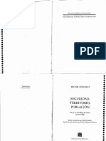 Foucault Michel - Seguridad Territorio y Poblacion