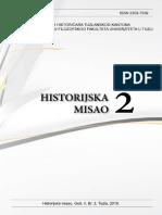 Historijska Misao 2