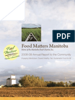 2009 Food Matters Manitoba Annual Report