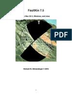 Manual Del FaultKin - Geomechanics