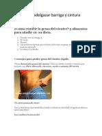 Dieta Para Adelgazar Barriga y Cintura Rápido.pdf