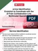June 7, 2016 - OC Transpo Technical Briefing