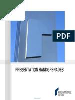 Presentation Rheinmetall Hand Grenades