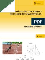 1era Clase - Cinemática del Movimiento Rectilíneo.pdf