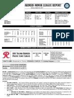 04.17.17 Mariners Minor League Report