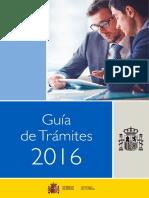 Guia de Trámites 2016 Accesible