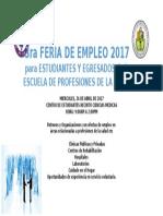 promo 3era feria de empleo eps2017