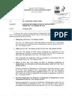 Memo on Uniform Implementation of DO 174
