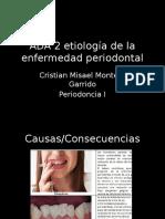 ADA 2 Etiología de La Enfermedad Periodontal