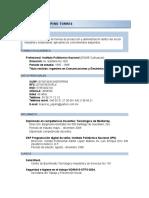 CV Mauricio IPN