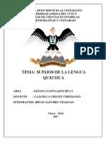 Sufijos Del Idioma Quechua