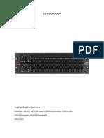 Manual de Ecualizadores