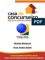 Apostila - TRE-RS 2014 - Direito Eleitoral - Pedro Kuhn (1)