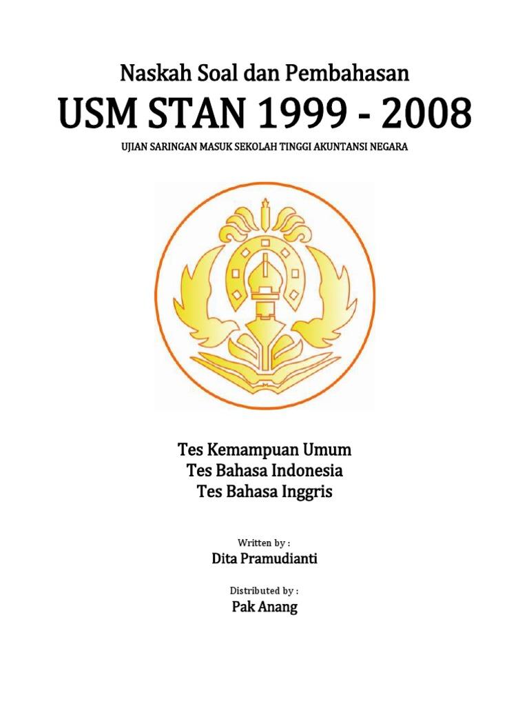 Naskah Soal dan Pembahasan USM STAN 1999-2008 (Edisi Revisi).pdf 98850dbeb3