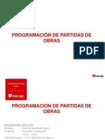 Clases Programacion de Partidas de Obras Definitivo