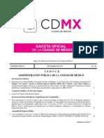 GGDF 03-03-2017 Arancel de Notarios de La Ciudad de Mexico 2017