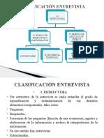 ENTREVISTA CLASIFICACIÓN