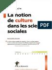 Denys Cuche La Notion de Culture Dans Les Sciences Sociales