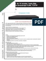 Catalogo Hk Ds7616ni St
