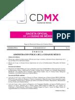 Ley de Cultura Civica de La Ciudad de México GGCDM 23-03-2017