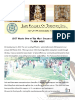 JSOT INC July 2010 Community Newsletter