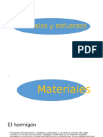 Materiales y Esfuerzos