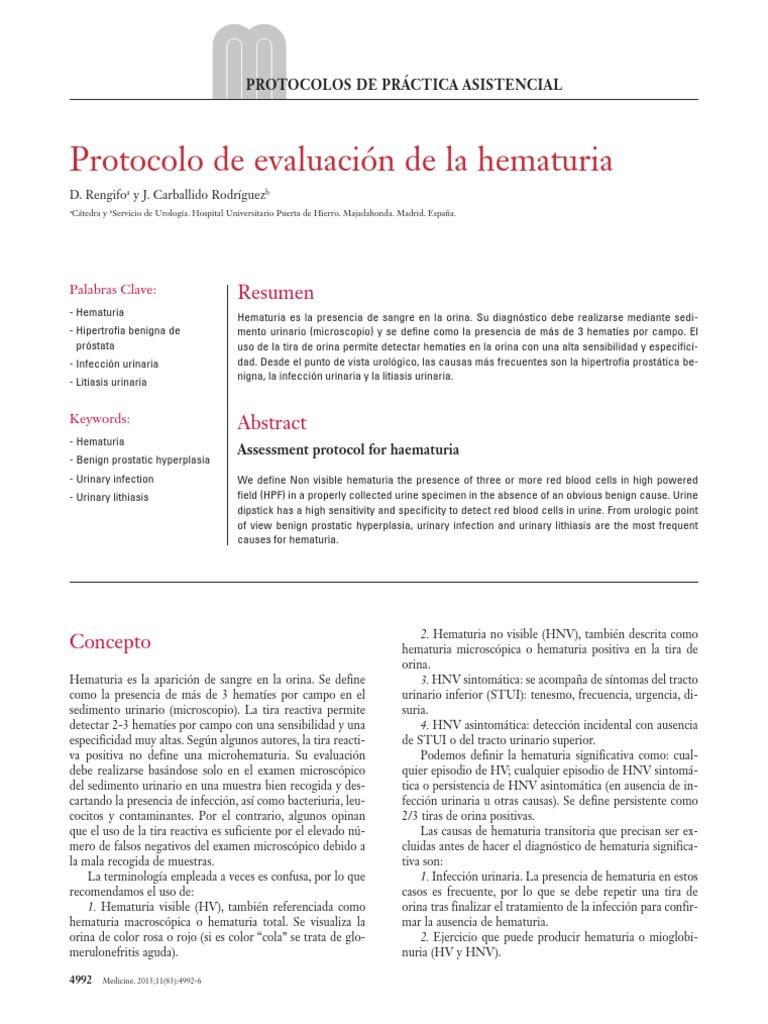 alta infección urinaria y de próstata i
