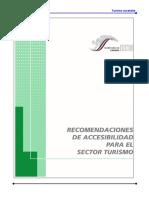 Recomendaciones de Accesibilidad Para El Sector Turismo