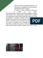 Reporte de La Pelicula 2